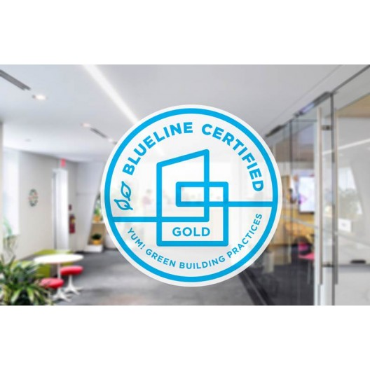 Blueline Certified - Opaque Sticker