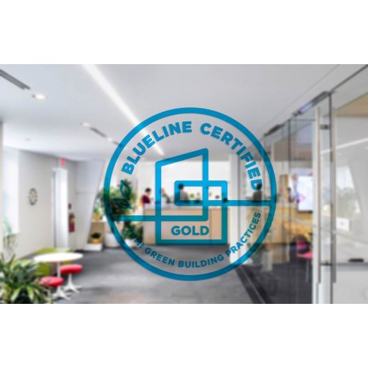 Blueline Certified - Translucent Sticker