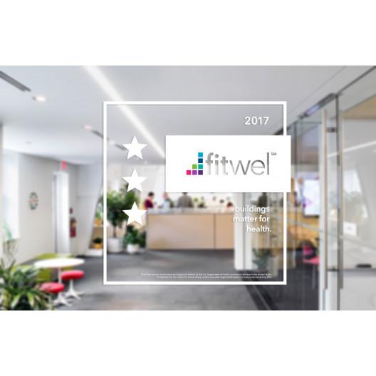 Fitwel - White Sticker