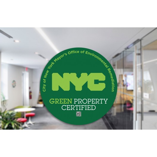 NYC Sticker - Opaque Green