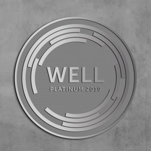 WELL Plaque-Brushed Aluminum