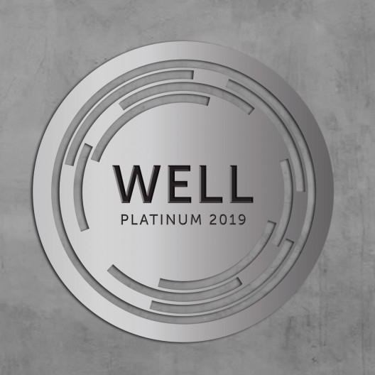 WELL Plaque-Water Jet Cut Brushed Aluminum