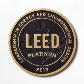 Engraved Brass Plaque - Polished Finish