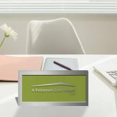 Parksmart – Polished Aluminum Desktop Plaque