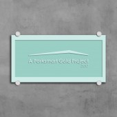 Parksmart - Sand Blasted Glass Plaque