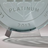"Polished Aluminum Plaque Stand for 5"", 8"" & 16"" Round Plaques"