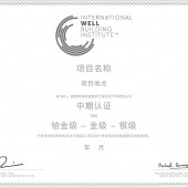 CHINESE-WELL Certificates: Precertified v1 Projects