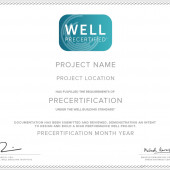 WELL Certificates: Precertified v2 Projects