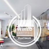 Wired Certification Sticker-White Translucent - USA