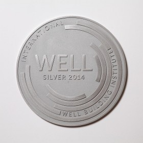 WELL Plaque-Brushed Aluminum