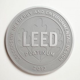 Brushed Aluminum Plaque - Clear Coated