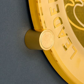 """Gold Gilded Type B for 8"""" & 16"""" Round Plaques"""