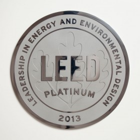 Polished Aluminum Plaque - Clear Coated