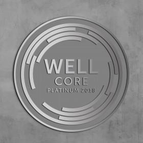 WELL CORE Plaque-Brushed Aluminum