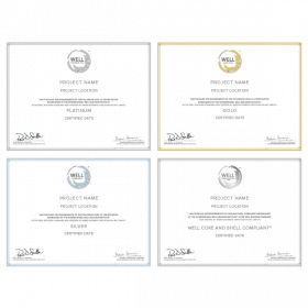 WELL Certificates: Certified Projects