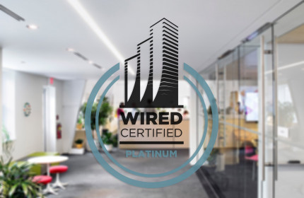 Wired Certification Sticker-2 color - INTERNATIONAL