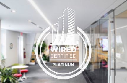 Wired Certification Sticker-White Translucent - INTERNATIONAL