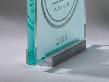 """Plaque Stand for Square Plaque 1/2"""" Thick"""