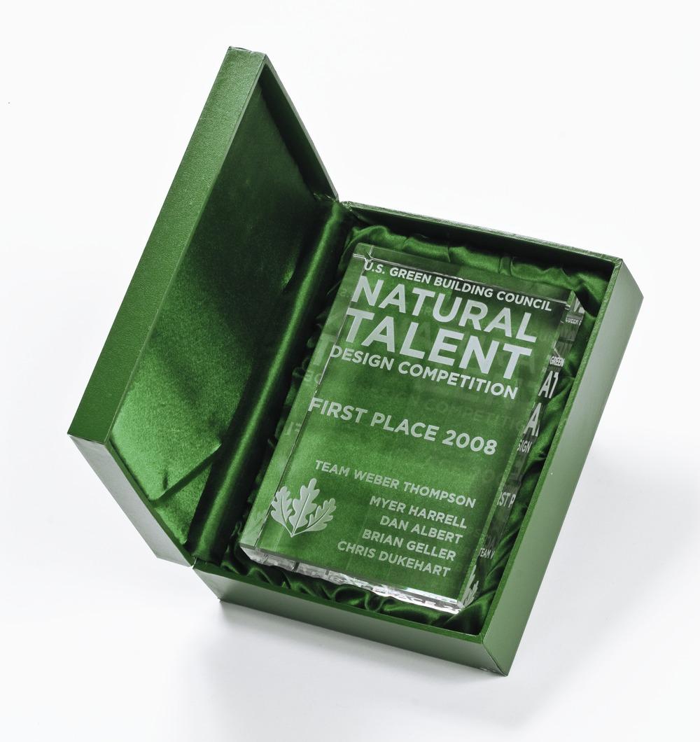 Talent Award in Box