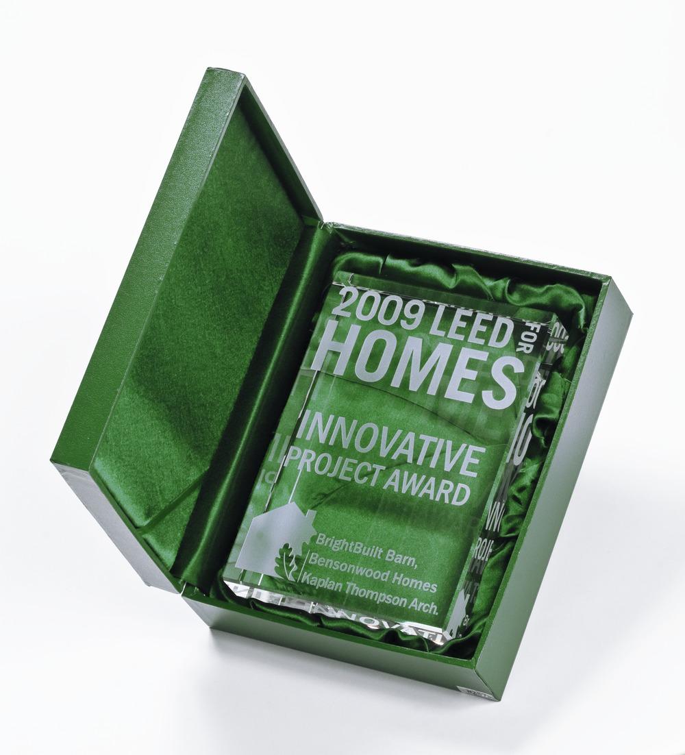 Homes Award in Box
